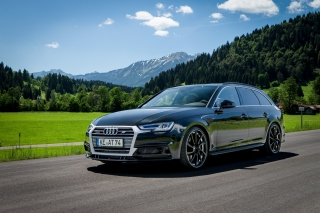 Audi A4 Avant Background for Android, iPhone and iPad