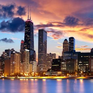 Illinois, Chicago - Obrázkek zdarma pro iPad 2