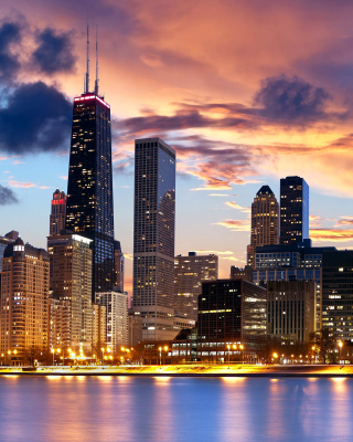Illinois, Chicago - Obrázkek zdarma pro Nokia Asha 300
