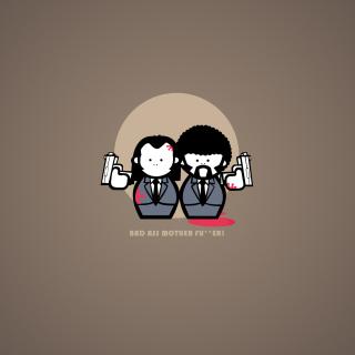 Pulp Fiction Joke - Obrázkek zdarma pro iPad mini