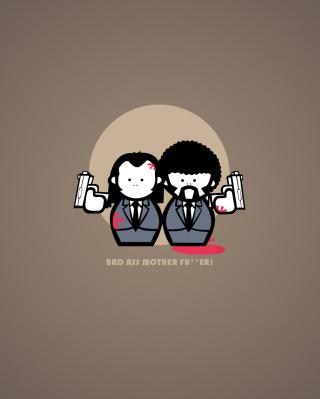 Pulp Fiction Joke - Obrázkek zdarma pro iPhone 5C