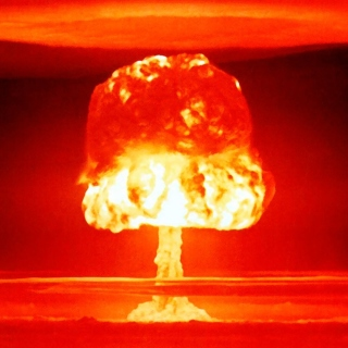 Nuclear explosion - Obrázkek zdarma pro iPad 3