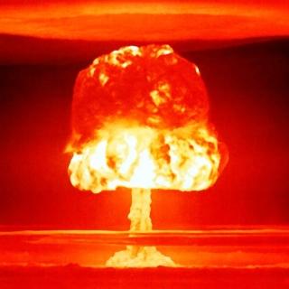 Nuclear explosion - Obrázkek zdarma pro iPad Air