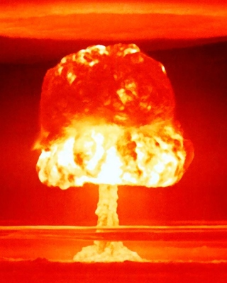 Nuclear explosion - Obrázkek zdarma pro 1080x1920