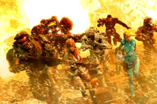 Mass effect, Shepard, Halo, Final fantasy 13, Dead space Characters - Fondos de pantalla gratis para Motorola Photon 4G