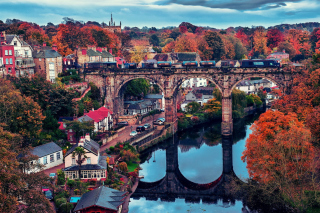 Knaresborough In North Yorkshire - Obrázkek zdarma pro Widescreen Desktop PC 1280x800