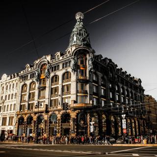 Nevsky Prospekt, Saint Petersburg - Obrázkek zdarma pro iPad Air