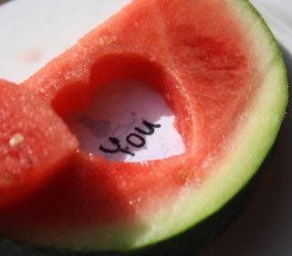 Watermelon Love - Obrázkek zdarma pro iPad 2