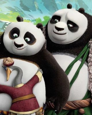 Kung Fu Panda 3 Family - Obrázkek zdarma pro Nokia 300 Asha