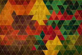 Free Colorful Triangles Picture for Android, iPhone and iPad