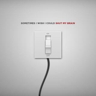 Shut My Brain - Obrázkek zdarma pro 1024x1024
