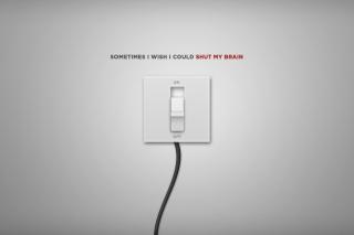 Shut My Brain - Obrázkek zdarma pro LG P700 Optimus L7