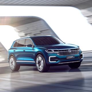 Volkswagen T Prime Concept GTE - Obrázkek zdarma pro iPad