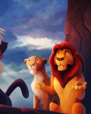 The Lion King - Obrázkek zdarma pro Nokia Asha 308