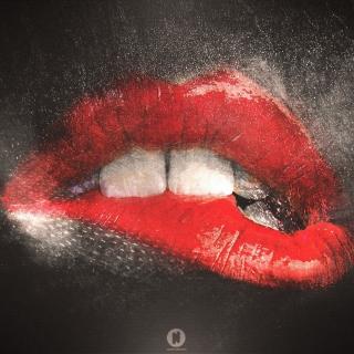 Red Lips Painting - Obrázkek zdarma pro iPad Air