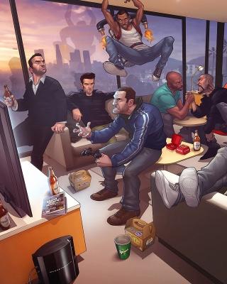 GTA IV, Tommy Vercetti Band - Obrázkek zdarma pro 360x400