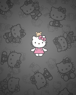 Hello Kitty - Obrázkek zdarma pro Nokia X7
