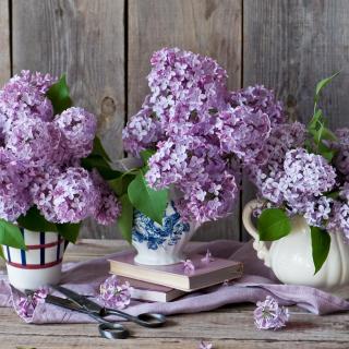 Lilac Bouquet - Obrázkek zdarma pro iPad 2