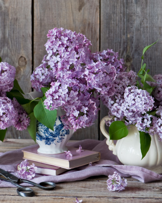 Lilac Bouquet - Obrázkek zdarma pro iPhone 4S