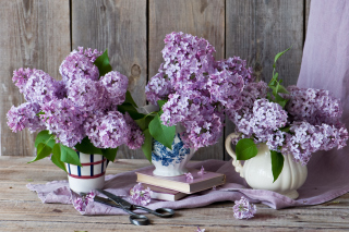 Lilac Bouquet - Obrázkek zdarma pro 1024x768