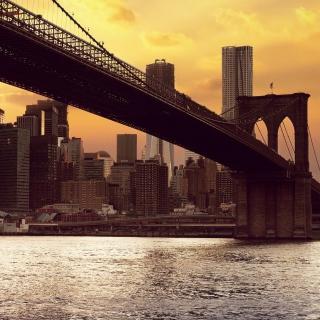 Brooklyn Bridge - Obrázkek zdarma pro 1024x1024