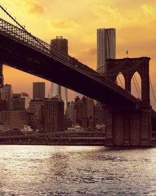 Brooklyn Bridge - Obrázkek zdarma pro 640x1136