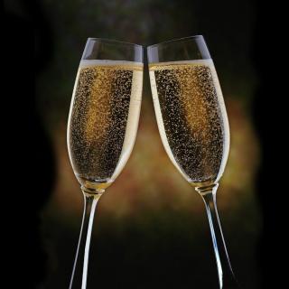 New Years Toast - Obrázkek zdarma pro iPad mini