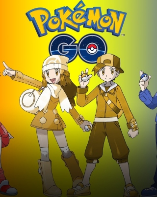 Pokemon Go WP - Obrázkek zdarma pro Nokia 300 Asha
