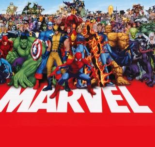 Marvel - Obrázkek zdarma pro iPad Air