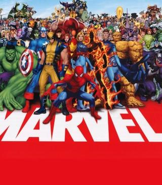 Marvel - Obrázkek zdarma pro Nokia Asha 306