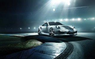 2014 Porsche 911 Turbo Background for Android, iPhone and iPad