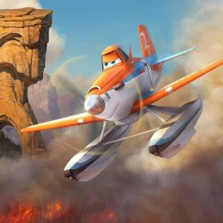 Planes Fire and Rescue 2014 - Obrázkek zdarma pro iPad Air