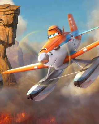 Planes Fire and Rescue 2014 - Obrázkek zdarma pro iPhone 5C