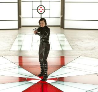Resident Evil: Retribution - Alice - Obrázkek zdarma pro 320x320