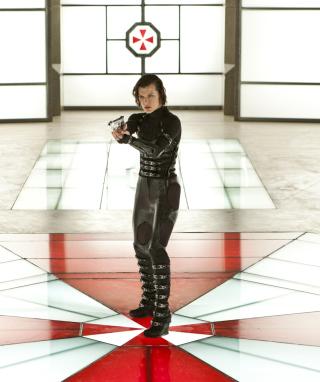 Resident Evil: Retribution - Alice - Obrázkek zdarma pro Nokia X1-00
