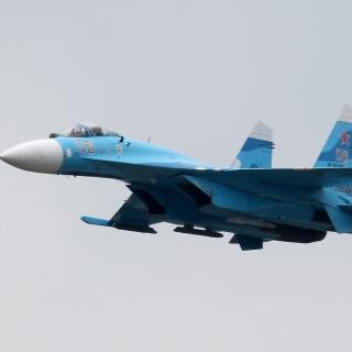 Sukhoi Su 27 Flanker - Obrázkek zdarma pro iPad
