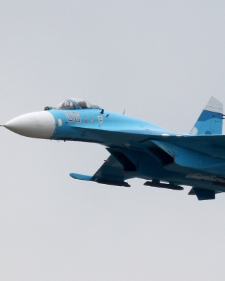 Sukhoi Su 27 Flanker - Obrázkek zdarma pro 640x960