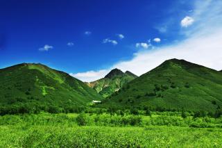 Green Hills - Obrázkek zdarma pro Samsung Galaxy S6 Active