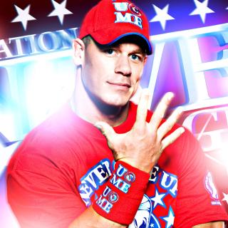 John Cena Wrestler and Rapper - Obrázkek zdarma pro iPad Air