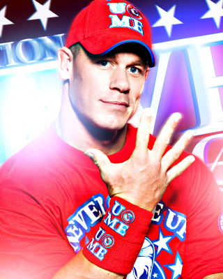 John Cena Wrestler and Rapper - Obrázkek zdarma pro Nokia 206 Asha