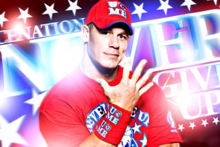 John Cena Wrestler and Rapper - Obrázkek zdarma pro Fullscreen Desktop 1400x1050