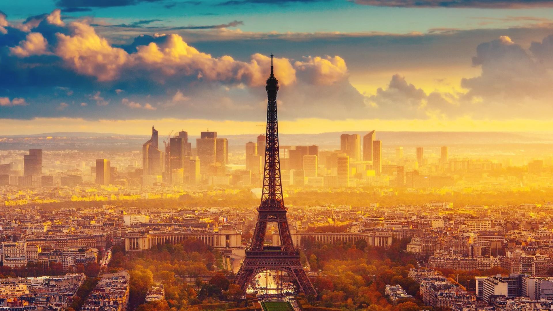 Paris Skyscrapers in La Defense - Fondos de pantalla gratis para ...