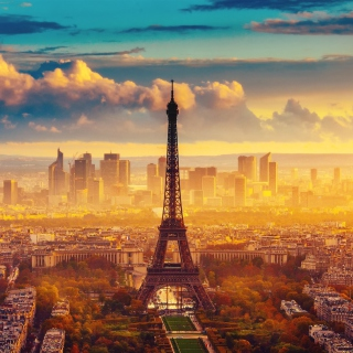 Paris Skyscrapers in La Defense - Obrázkek zdarma pro iPad