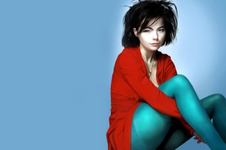Bjork Painting Wallpaper for Android, iPhone and iPad