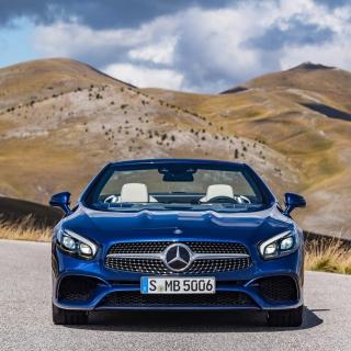 Mercedes Benz SL500 - Obrázkek zdarma pro iPad 2