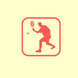 Squash Game Logo - Obrázkek zdarma pro iPad 2