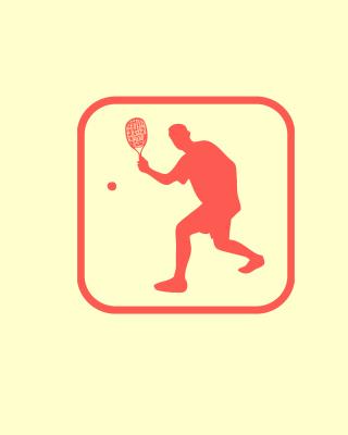 Squash Game Logo - Obrázkek zdarma pro Nokia Asha 308