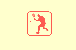 Squash Game Logo - Obrázkek zdarma pro Android 320x480
