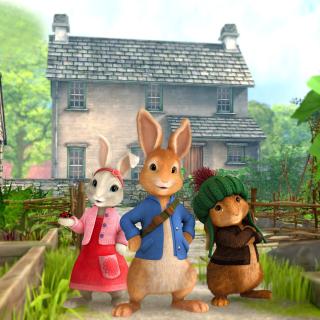 Peter Rabbit - Obrázkek zdarma pro iPad mini