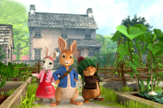 Peter Rabbit - Obrázkek zdarma pro Nokia Asha 200
